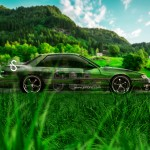 Nissan Silvia S13 JDM Crystal Nature Car 2014
