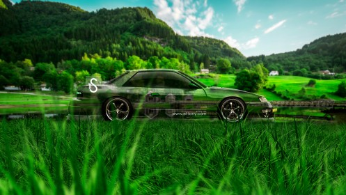 Nissan-Silvia-S13-JDM-240SX-Crystal-Nature-Car-2014-design-by-Tony-Kokhan-[www.el-tony.com]