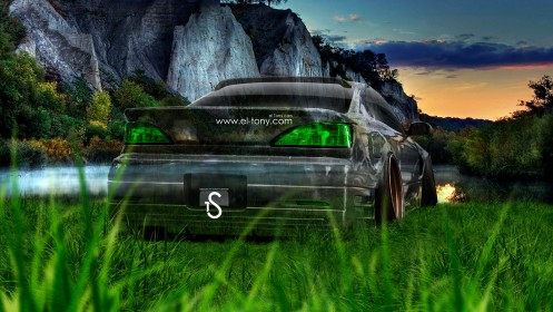 Nissan-Silvia-S15-JDM-Back-Crystal-Nature-Car-2014-design-by-Tony-Kokhan-[www.el-tony.com]