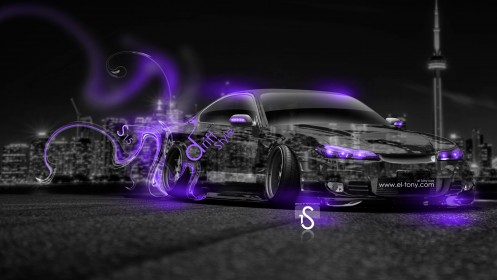 Nissan-Silvia-S15-JDM-Crystal-City-Drift-Style-Car-2014-Violet-Neon-by-Tony-Kokhan-[www.el-tony.com]