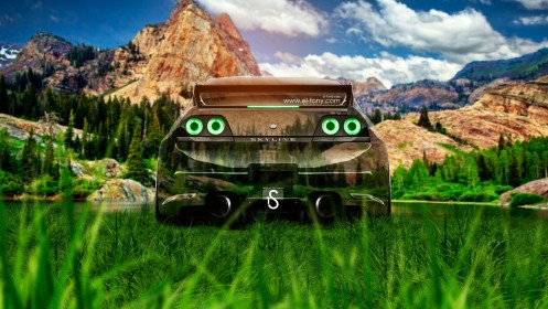 Nissan-Skyline-GTR-R33-Crystal-Nature-Car-2014-HD-Wallpapers-design-by-Tony-Kokhan-[www.el-tony.com]