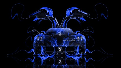 Pagani-Huayra-Blue-Fire-Abstract-Car-Open-Doors-2014-HD-Wallpapers-design-by-Tony-Kokhan-[www.el-tony.com]