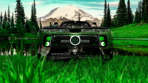 Pagani-Zonda-C12S-Roadster-Crystal-Nature-Car-2014-design-by-Tony-Kokhan-[www.el-tony.com]