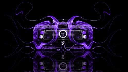 Pagani-Zonda-C12S-Roadster-Violet-Fire-Abstract-Car-2014-design-by-Tony-Kokhan-[www.el-tony.com]