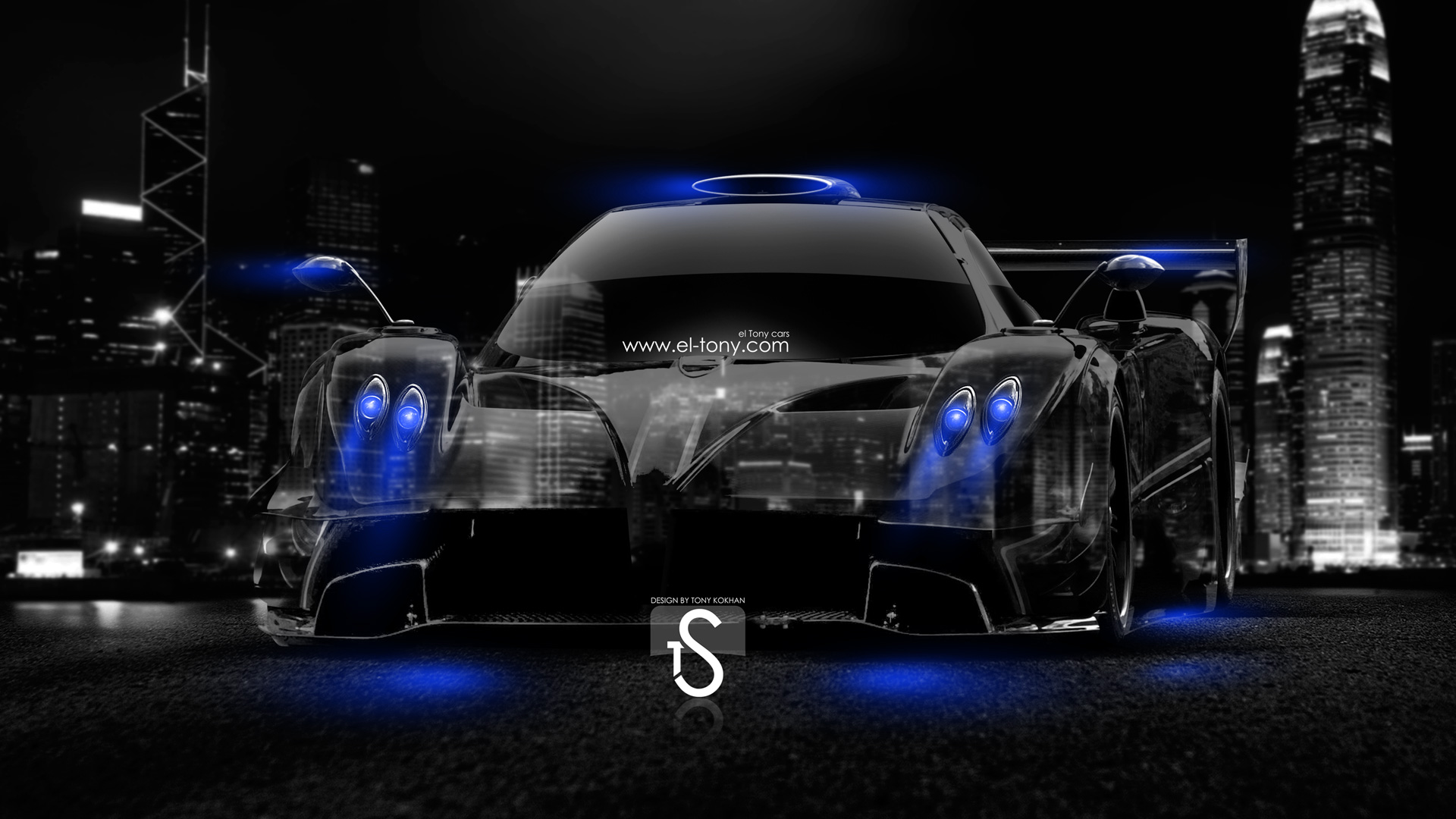 Genial Pagani Zonda Revolucion Crystal City Car 2014 Blue  ...