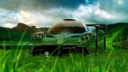 Pagani-Zonda-Revolucion-Crystal-Nature-Car-2014-design-by-Tony-Kokhan-[www.el-tony.com]