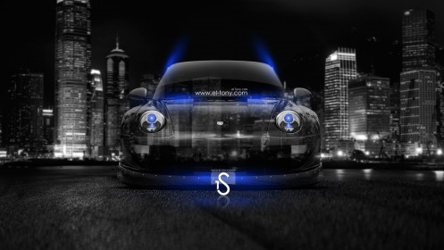 Porsche-Crystal-City-Car-2014-Blue-Neon-HD-Wallpapers-design-by-Tony-Kokhan-[www.el-tony.com]