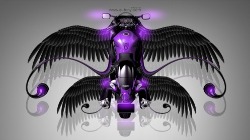 Suzuki-Hayabusa-Fantasy-Moto-Fly-2014-Violet-Neon-HD-Wallpapers-design-by-Tony-Kokhan-[www.el-tony.com]