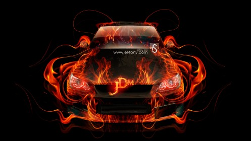 Toyota-Altezza-JDM-Fire-Abstract-Car-2014-HD-Wallpapers-design-by-Tony-Kokhan-[www.el-tony.com]
