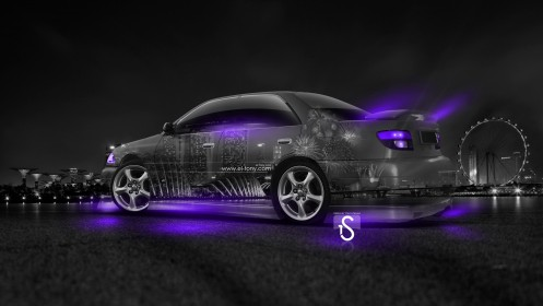 Toyota-Carina-GT-TRD-JDM-Crystal-City-Car-2014-Violet-Neon-HD-Wallpapers-design-by-Tony-Kokhan-[www.el-tony.com]