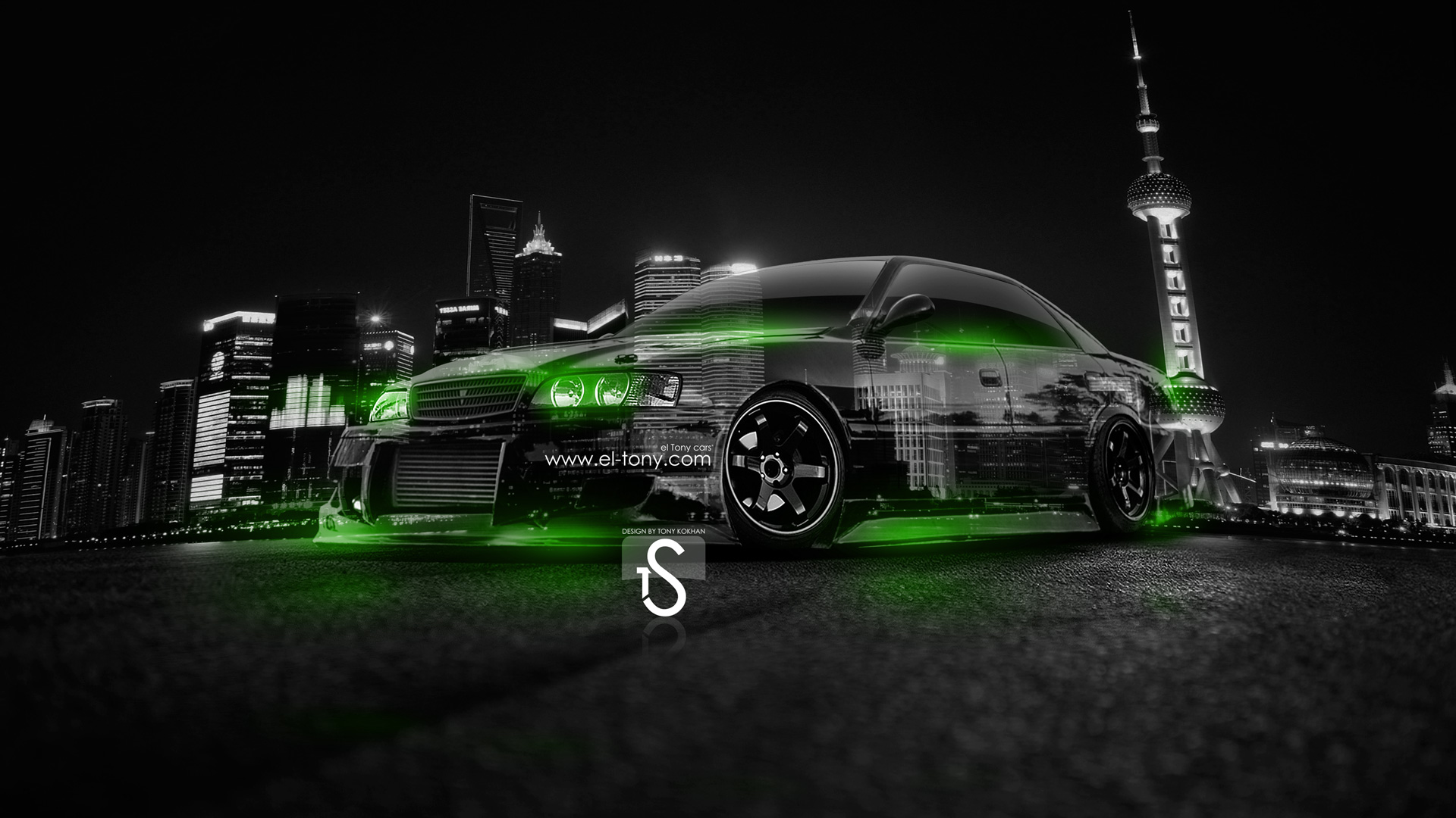 Toyota Chaser JZX100 JDM Crystal City Car 2014 .