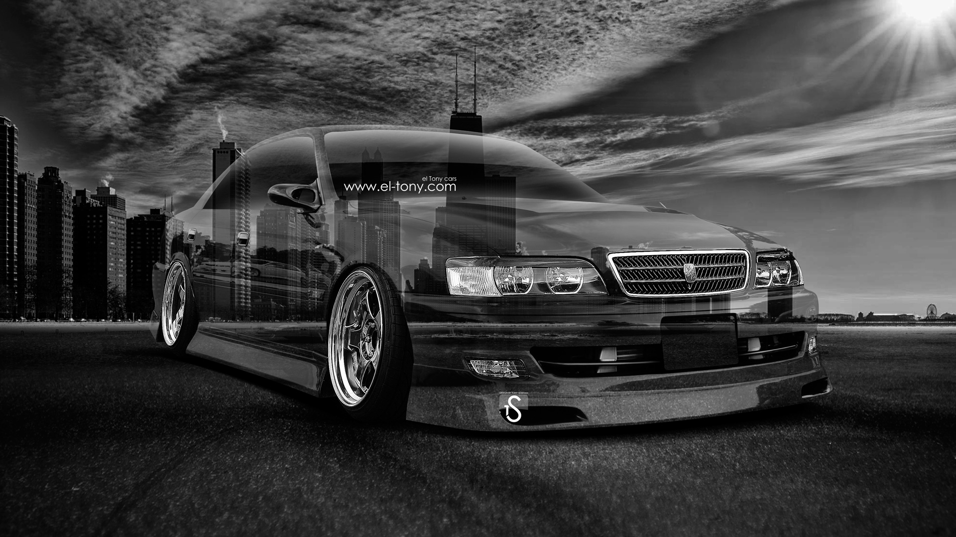 Toyota Chaser JZX100 JDM Crystal City Day Car