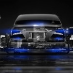 Toyota Crown Athlete JDM Back Crystal City Car 2014
