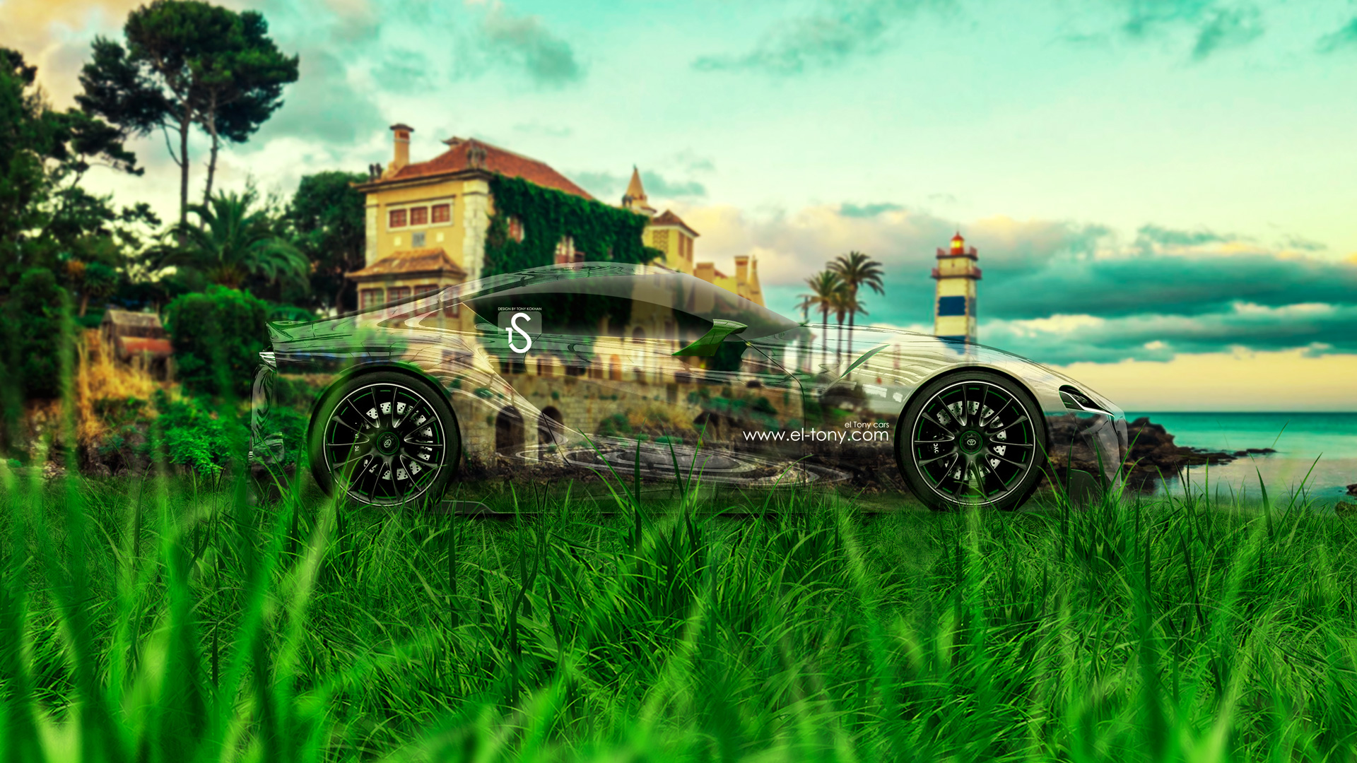 Toyota FT 1 Crystal Nature Car 2014