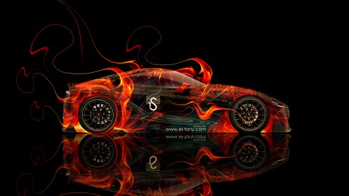 Toyota-FT-1-Fire-Abstract-Car-2014-HD-Wallpapers-design-by-Tony-Kokhan-[www.el-tony.com]