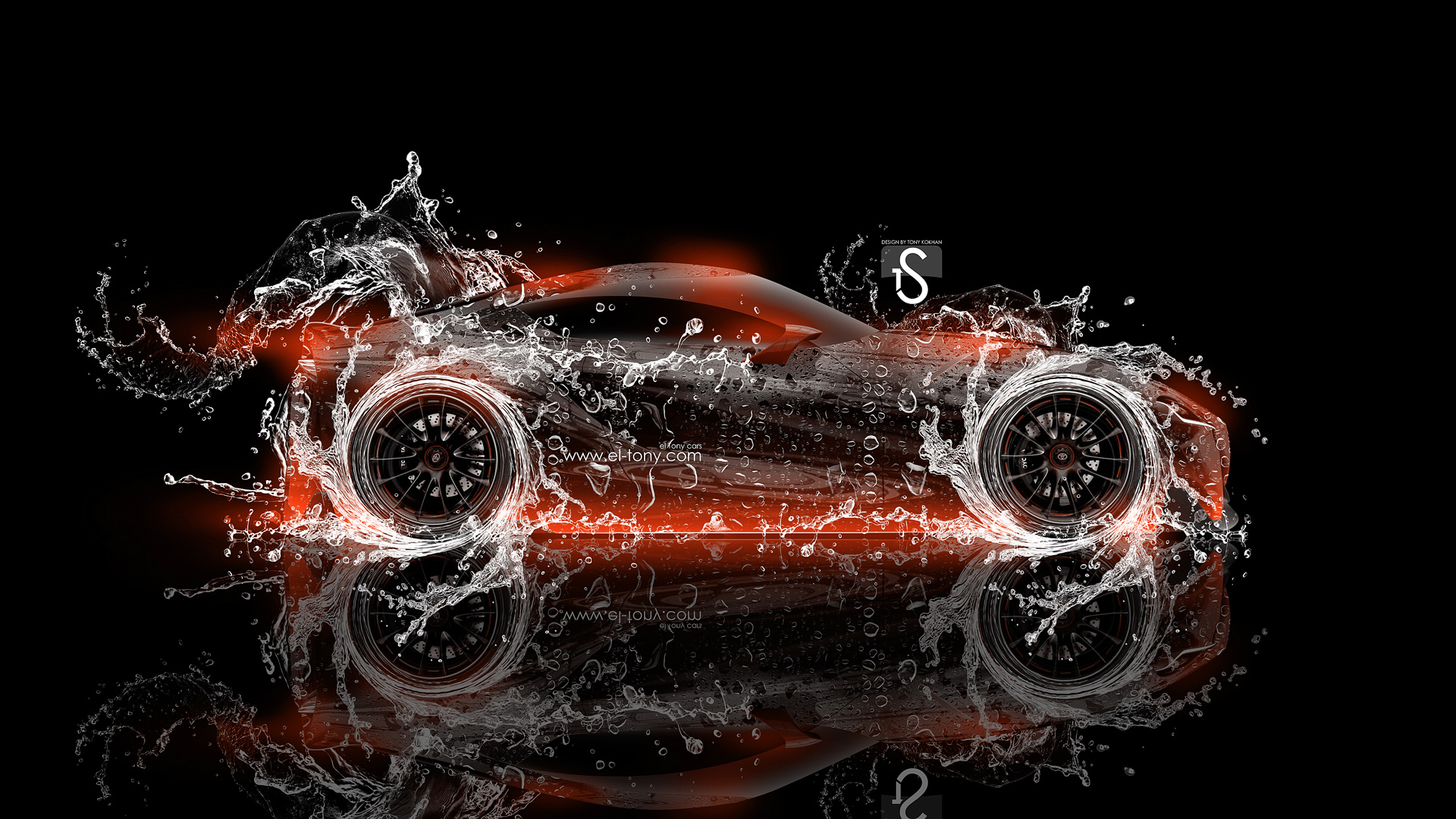 Delicieux ... Toyota FT 1 Water Abstract Car 2014 Orange  ...
