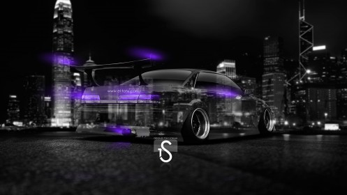 Toyota-Mark-2-JZX100-JDM-Tuning-Crystal-City-Car-2014-Violet-Neon-design-by-Tony-Kokhan-[www.el-tony.com]