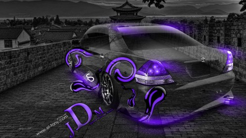Toyota-Mark-2-JZX110-JDM-Crystal-Car-2014-Violet-Neon-design-by-Tony-Kokhan-[www.el-tony.com]