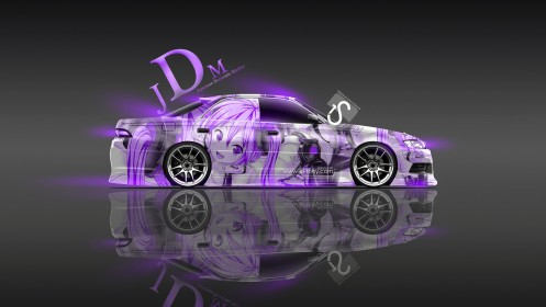 Toyota-Mark-2-JZX90-JDM-Violet-Neon-Aerography-Anime-Girl-2014-by-Tony-Kokhan-[www.el-tony.com]