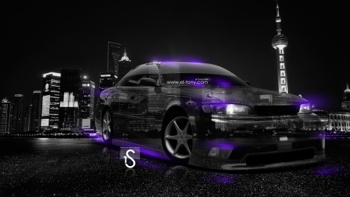 Toyota-Mark2-JZX90-JDM-Crystal-City-Car-2014-Violet-Neon-design-by-Tony-Kokhan-[www.el-tony.com]