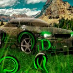Toyota Mark2 JZX90 JDM Effects Crystal Nature Car 2014