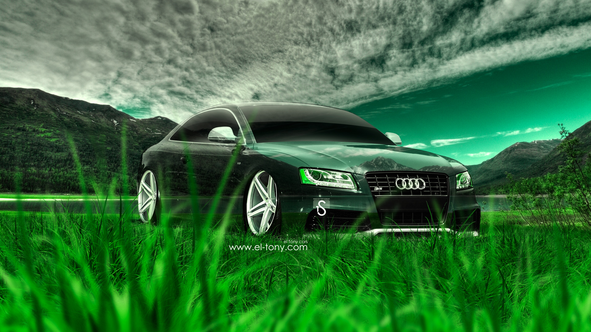 Awesome Audi S5 Crystal Nature Car 2014