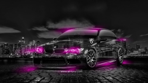 BMW-M3-E90-Crystal-City-Car-2014-Pink-Neon-design-by-Tony-Kokhan-[www.el-tony.com]