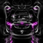 BMW M3 Engine Smoke Car 2014