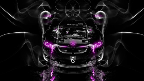 BMW-M3-Engine-Pink-Smoke-Car-2014-HD-Wallpapers-design-by-Tony-Kokhan-[www.el-tony.com]