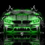 BMW M4 Water Car 2014
