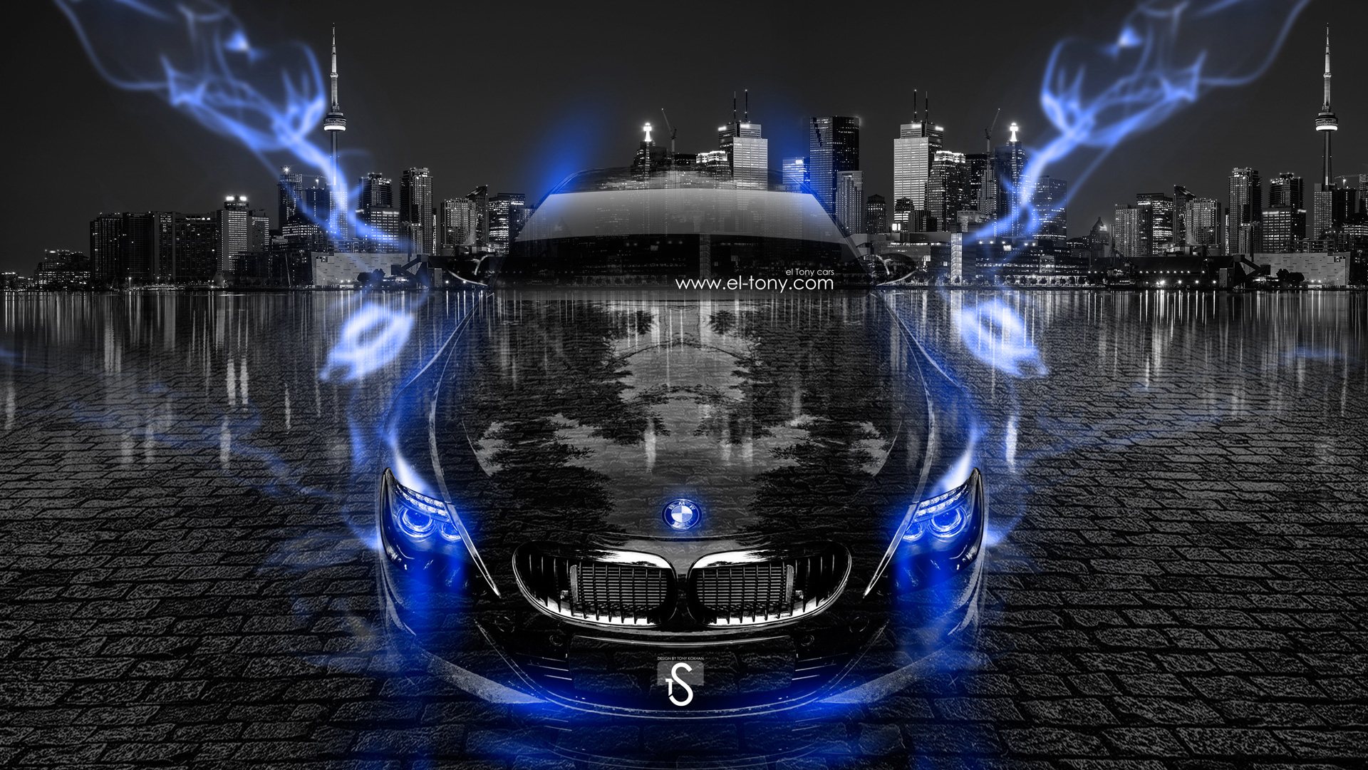 Attractive ... BMW M6 Crystal City Blue Energy Car 2014  ... Design Ideas