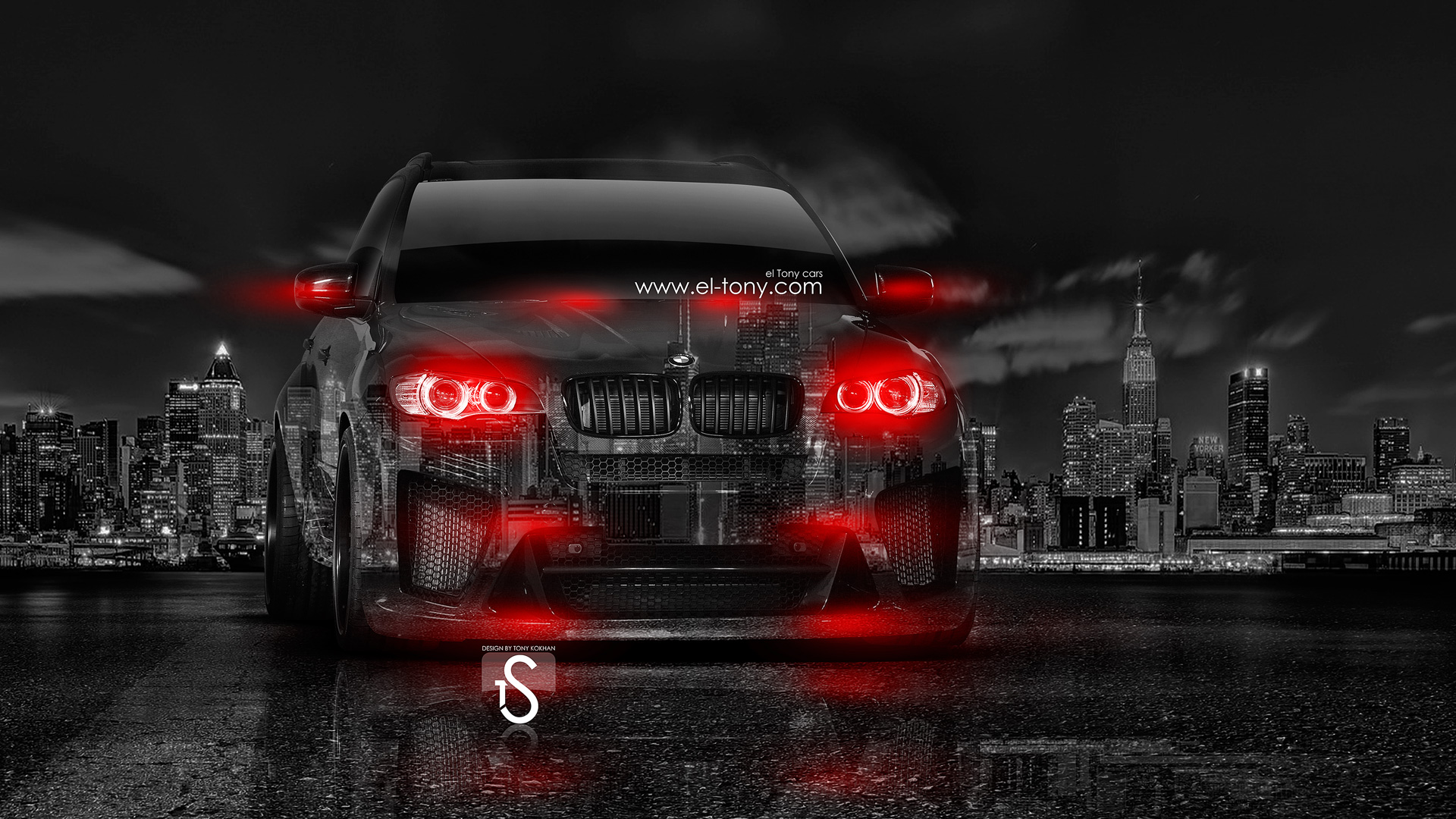 Bmw M6 Hamann Tuning Side Crystal City Car Wallpapers U