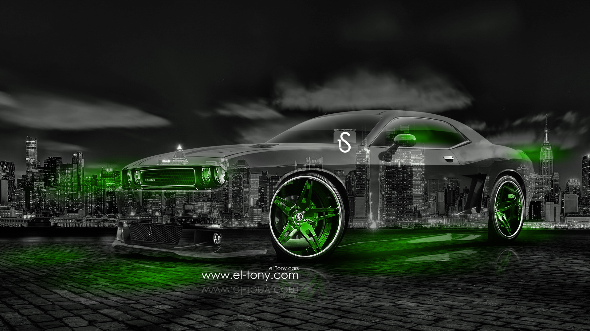 Dodge Challenger Muscle Crystal City Car 2014 | El Tony