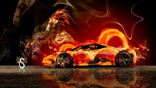 Ferrari-Fire-Horse-Car-2014-HD-Wallpapers-design-by-Tony-Kokhan-[www.el-tony.com]