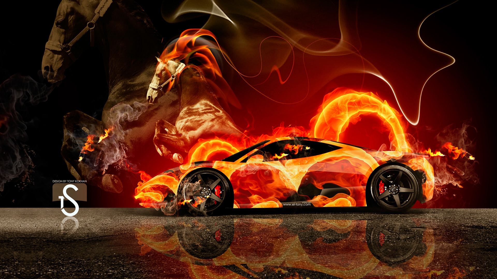 Amazing Ferrari Fire Horse Car 2014 HD Wallpapers Design
