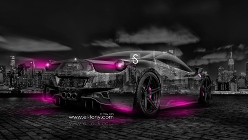 Ferrari-Italia-Crystal-City-Car-2014-Pink-Neon-design-by-Tony-Kokhan-[www.el-tony.com]
