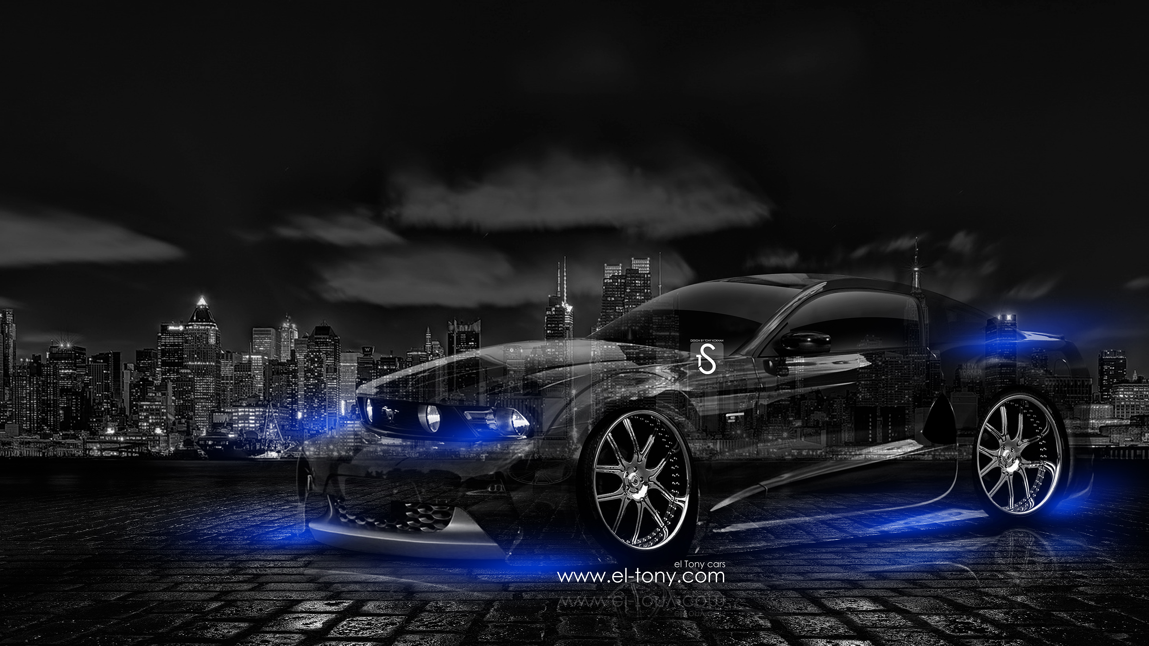 Ford Mustang GT Muscle Crystal City Car 2014