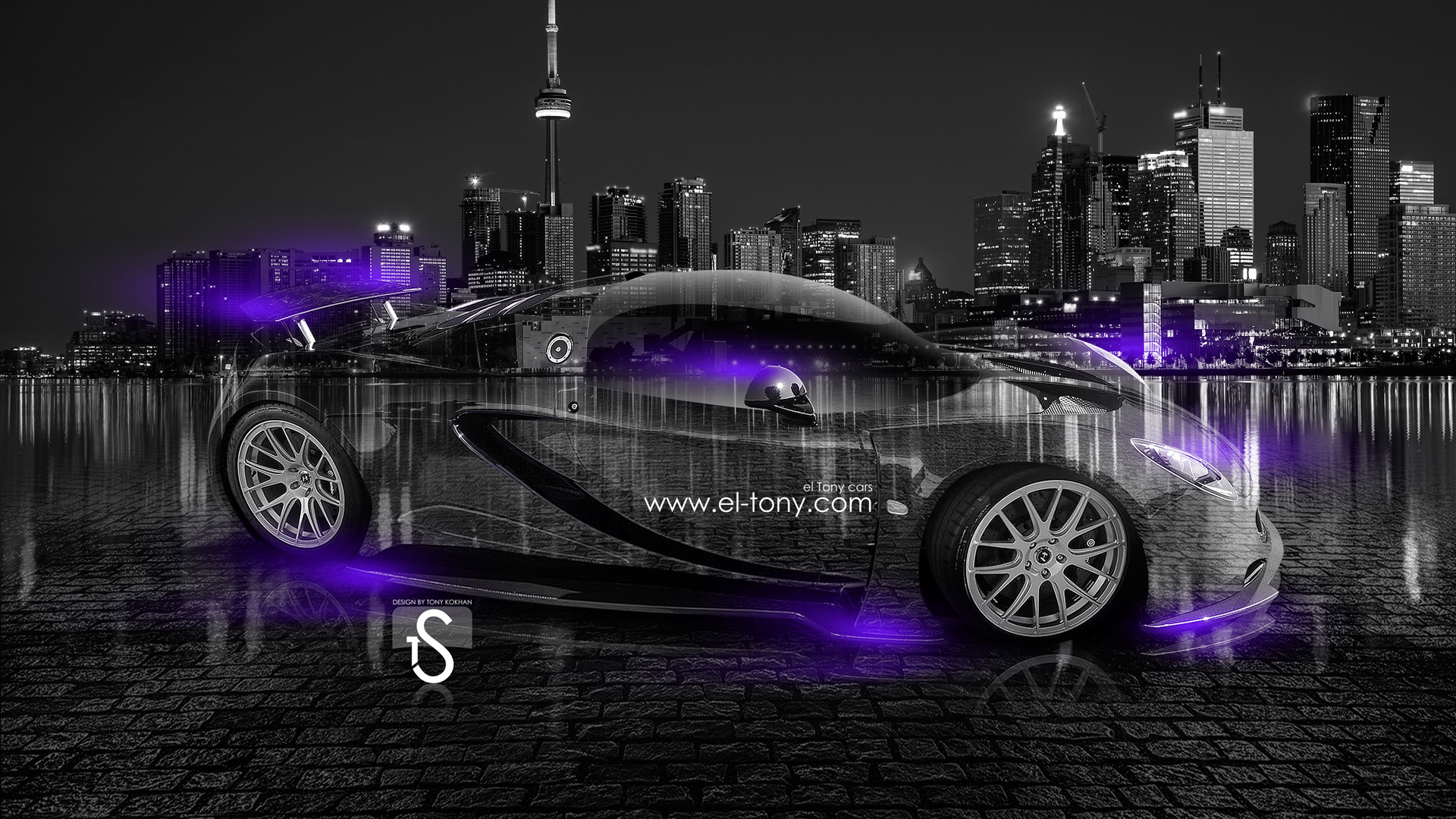 Hennessey-Venom-GT-Crystal-City-Car-2014-Violet-Neon-design-by-Tony-Kokhan-[www.el-tony.com]