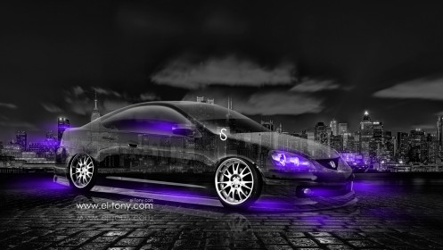 Honda-Integra-JDM-Crystal-City-Car-2014-Violet-Neon-design-by-Tony-Kokhan-[www.el-tony.com]