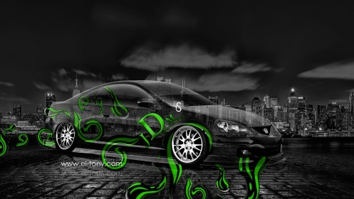 Honda-Integra-JDM-Green-Effects-Crystal-City-Car-2014-design-by-Tony-Kokhan-[www.el-tony.com]