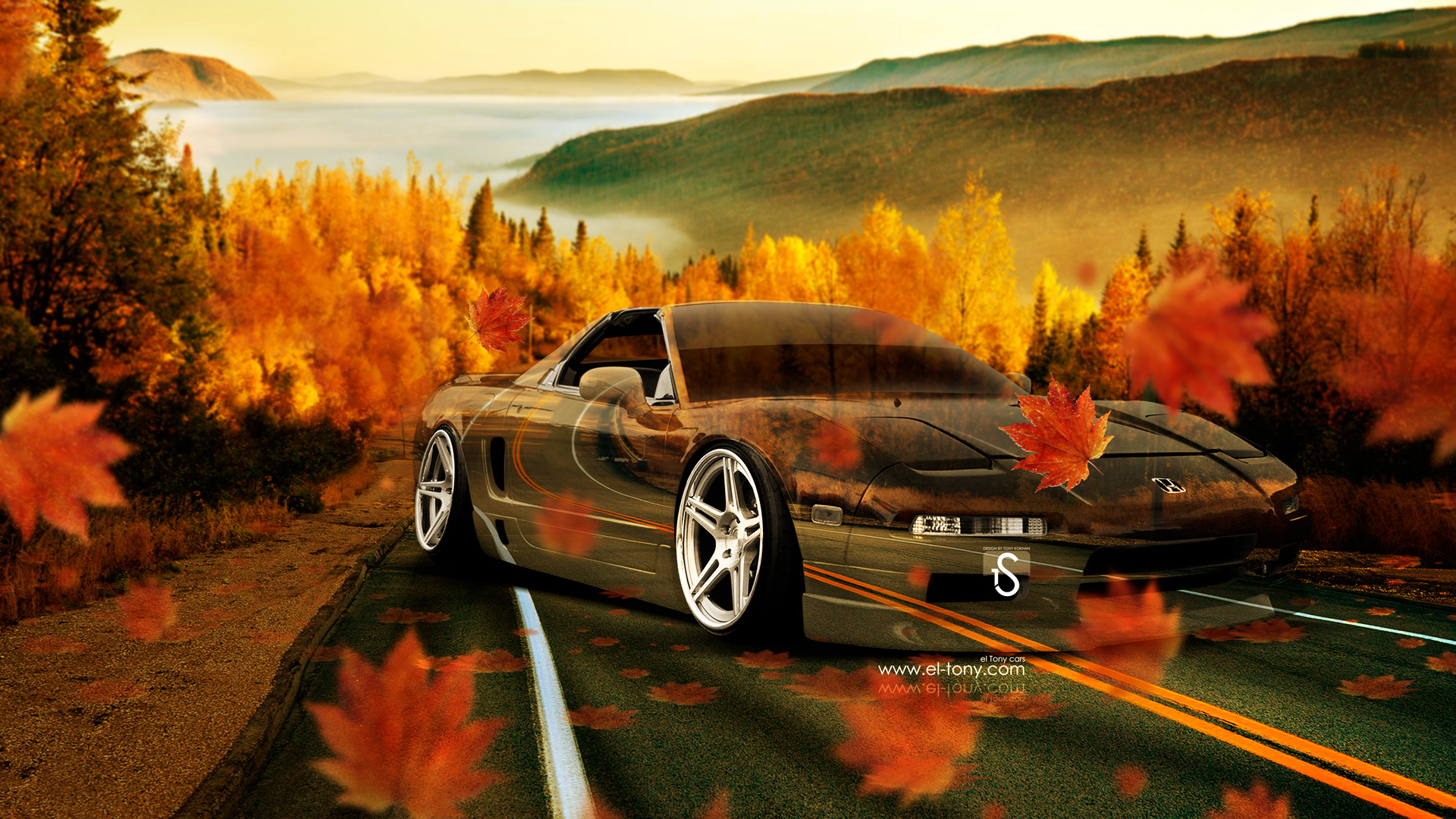 Superieur Honda NSX JDM Crystal Nature Autumn Car 2014