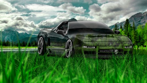 Honda-NSX-JDM-Crystal-Nature-Car-2014-HD-Wallpapers-design-by-Tony-Kokhan-[www.el-tony.com]