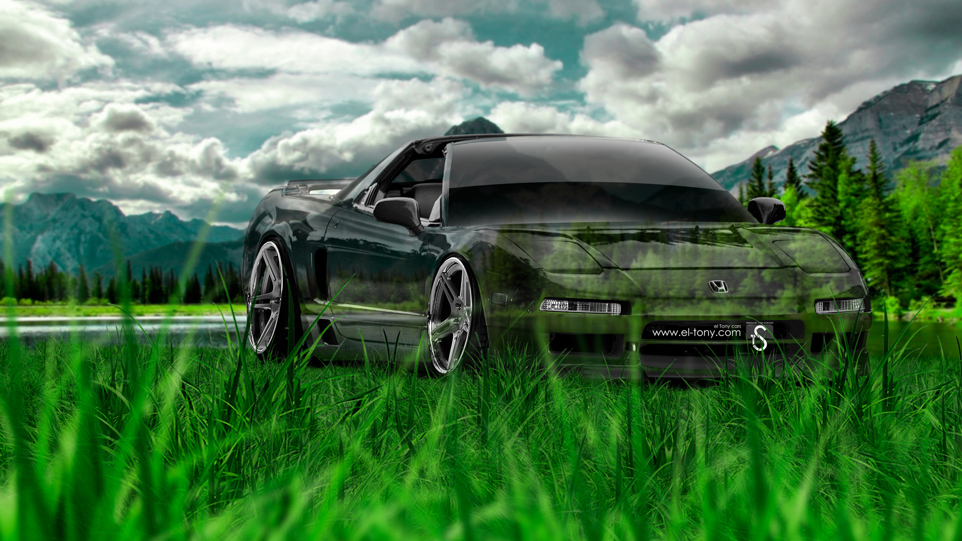 Superieur Honda NSX JDM Crystal Nature Car 2014