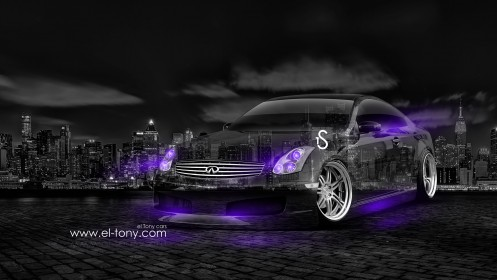 Infiniti-G35-Crystal-City-Car-2014-Violet-Neon-design-by-Tony-Kokhan-[www.el-tony.com]