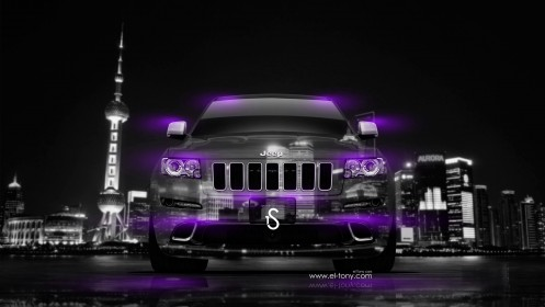 Jeep-Grand-Cherokee-SRT-Crystal-City-Car-2014-Violet-Neon-design-by-Tony-Kokhan-[www.el-tony.com]