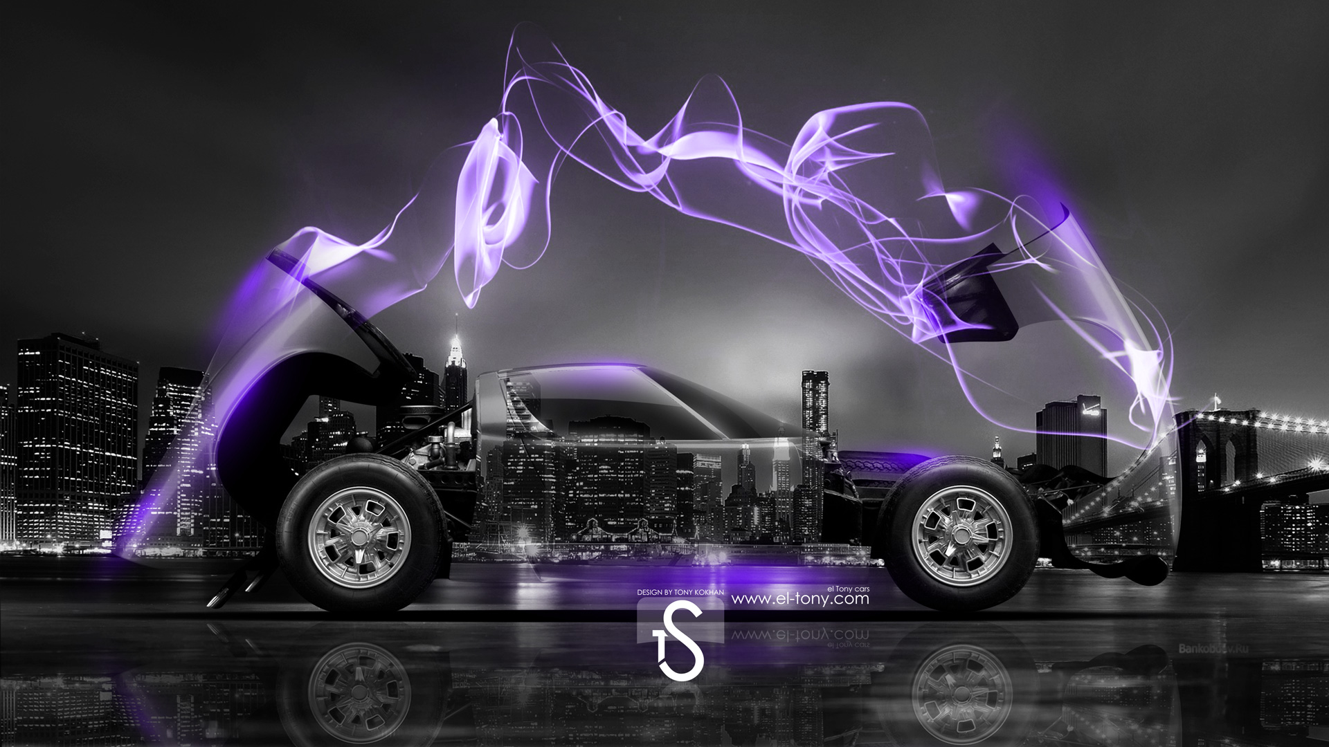 Superior Lamborghini Miura Crystal Violet Energy City Car 2014