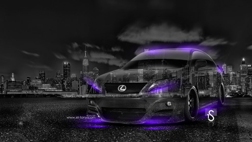 Lexus-RX-Crystal-City-Car-2014-Violet-Neon-design-by-Tony-Kokhan-[www.el-tony.com]