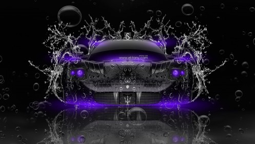 Maserati-MC12-Water-Car-2014-Violet-Neon-HD-Wallpapers-design-by-Tony-Kokhan-[www.el-tony.com]