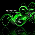 Monster Energy Kawasaki Ninja Plastic Bike 2014