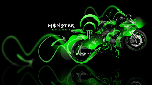 Monster-Energy-Kawasaki-Ninja-Green-Plastic-Bike-2014-design-by-Tony-Kokhan-[www.el-tony.com]
